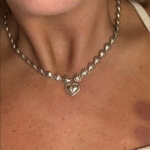 Tiffany & Co. continuing heart necklace
